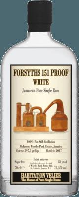 Habitation Velier Forsyths 151 Proof White rum