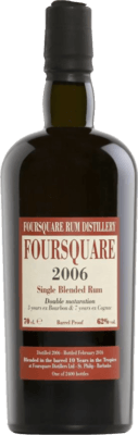 Foursquare 2006 Released by Velier 10-Year rum