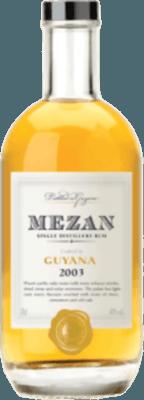 Mezan 2003 Guyana rum