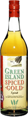 Green Island Spiced Gold rum