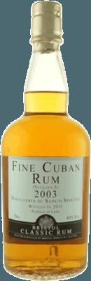 Bristol Classic 2003 Cuban Sancti Spiritus 12-Year rum