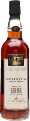 Rum Nation 1991 Jamaica Supreme Lord VIII 25-Year rum