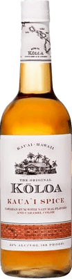 Medium koloa spice rum