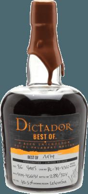 Dictador 1979 Best of rum