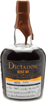 Dictador 1979 Best of rum