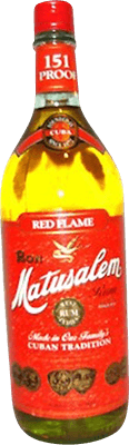 Matusalem 151 Red Flame rum