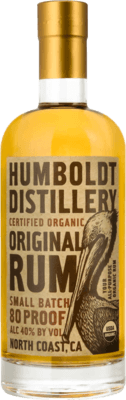 Humboldt Small Batch 80 proof rum