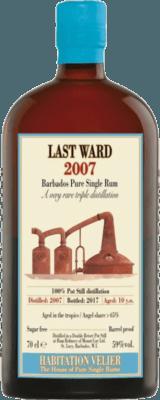 Habitation Velier 2007 Last Ward rum