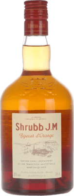 Rhum JM Shrubb Liqueur d'Orange rum