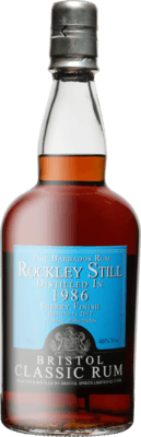 Bristol Classic 1986 Barbados Rockley Still 26-Year rum