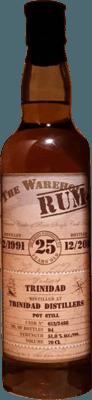 The Whisky Warehouse No. 8 1991 Trinidad 25-Year rum