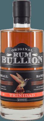 Rumbullion 2003 Trinidad rum