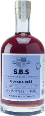 S.B.S. 1988 Guyana Enmore rum