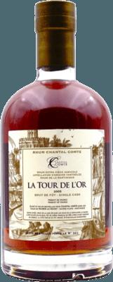Chantal Comte 2005 La Tour De L'or Brut De Fut 51,5° rum