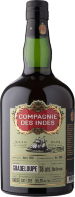Compagnie des Indes Guadeloupe 18-Year rum