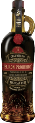 El Ron Prohibido Gran Reserva 15-Year rum