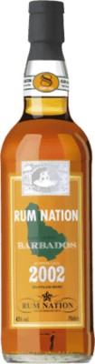 Medium rum nation barbados 2002 8 year