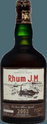 Rhum JM 2003 12-Year rum