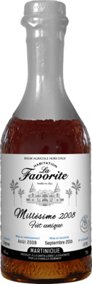 La Favorite 2008 Fut Unique rum