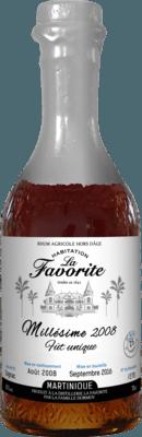 La Favorite 2008 Fut Unique 8-Year rum