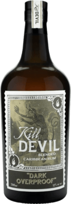 Golden Devil Dark Overproof rum