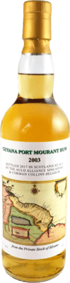 Corman Collins 2003 Guyana Port Mourant rum