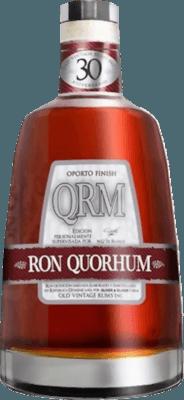 Quorhum 30th Anniversary Oporto Finish rum
