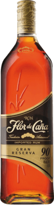 Flor de Caña Gran Reserva 90 Proof rum