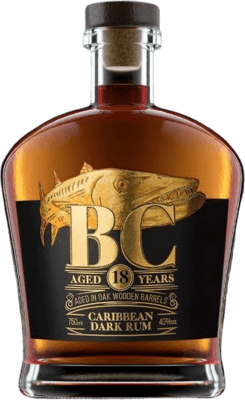 Barracuda Cay Dark 18-Year rum