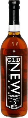 Medium old new orleans amber rum