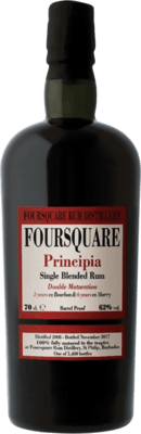 Foursquare 2008 Principia Released by Velier 9-Year rum
