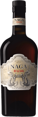 Medium naga rum indonesia distillery cask aged