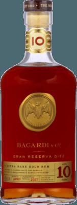 Bacardi Gran Reserva Diez 10-Year rum