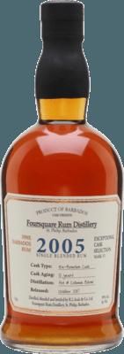 Foursquare 2005 12-Year rum