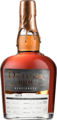 Dictador 1977 Best of rum
