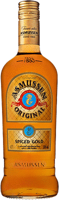 Asmussen Spiced Gold rum