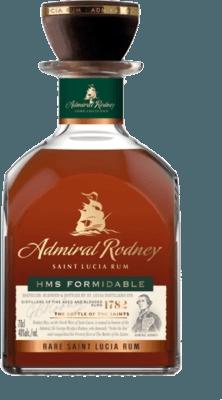 Admiral Rodney HMS Formidable rum