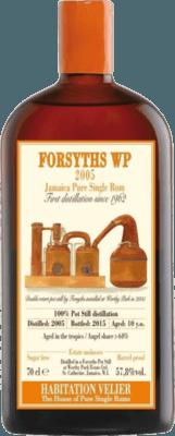 Habitation Velier 2005 Forsyths WP 10-Year rum