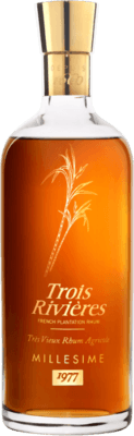 Trois Rivieres 1977 Carafe Baccarat rum