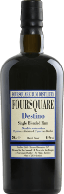 Foursquare 2003 Destino Released by Velier 14-Year rum