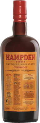 Hampden Estate Pure Single Jamaican Overproof rum