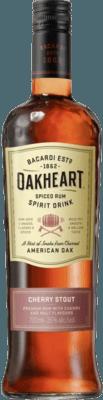 Medium bacardi oakheart cherry stout