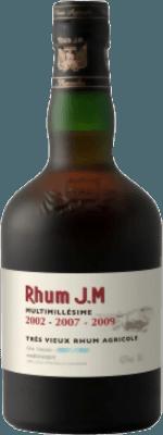 Rhum JM Multimillesime 2002-2007-2009, 9-Year rum