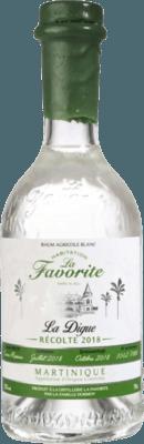 La Favorite 2018 La Digue Blanc rum