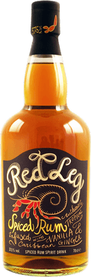 Red Leg Spiced rum
