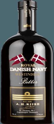 A. H. Riise Royal Danish Navy Westindian Bitter rum