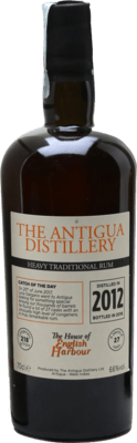 English Harbour 2012 Heavy Traditional Rum Released by Velier 6-Year rum