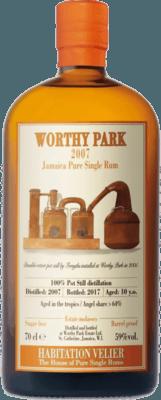 Habitation Velier 2007 Worthy Park 10-Year rum