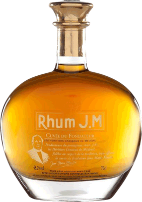 Rhum JM Cuvee du Fondateur 10-Year rum
