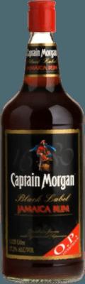 Captain Morgan Black Label Overproof rum